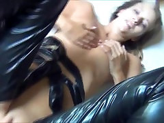 hot assless chaps provide easy access for anal sex