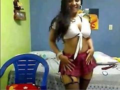 Columbian Bimbo on YourWishCams.Com Showing Her ike deep big mambars gruop sex and Ass on Cam