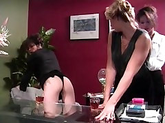 Classic anal strapon lesbian lesson