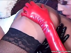 Superb sluts in stocking having great lesbian sex