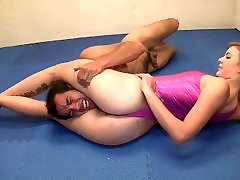 Mixed Wrestling with OTS at end