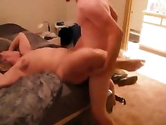 Hyun from DATES25.COM - Blonde milf receives extreme orgasms from young man