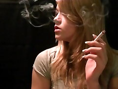 Mika smoking sexy