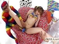Pale xxxxfull movie AV star weird vibrator threesome Subtitled