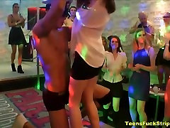 Horny Teens Suck And Fuck Strippers At CFNM Party