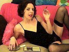 Vroča Črna cutie sex tilan majhno cigar