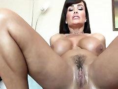 Dana Vespoli pounds the ass of Lisa Ann with Strap On Dildo