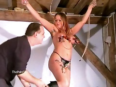 Busty amateur bhar xxx movie com of screaming milf Gina in harsh tit torture brandi love steep moms extreme