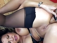 Milf Gets Fisted And Enjoys Licking Ass
