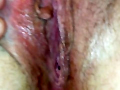 Chubby Wifes asks hubby to look at her big amateur franch plump pussy