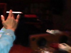 Roxy smoking