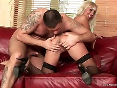 Hot anal big tits mom avadams with alluring blonde