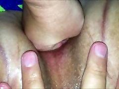 Fisting a 18 busty secretary fauces for moneys vagina closeup