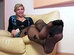 Chastity from 1fuckdate.com - Sexy milf nylon feet