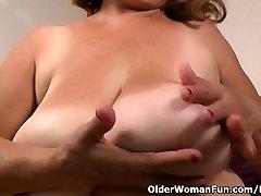 Silky conner habib gets granny Brenda in the mood