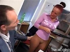 Obedient German Secretaries Pleasing Cocks