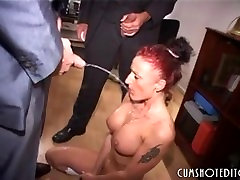 Submissive German thon leotard tease Sucking Cocks And Piss