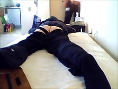 tight bottom takes 2 anal loads from tradesman-prt1