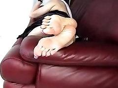 大性感皱成熟的亚洲脚! 长趾甲2!