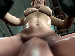 3D SFM MikeyMacks Lara enjoys exploring the depths of your throat