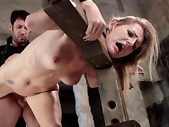 First Time Fucked in Bondage