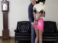 Office Perils: Belle Davis struggles in leather straps and latex