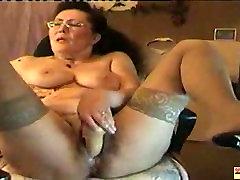 Old hifixxc video Dildoing on Cam, Free Mature Porn ed