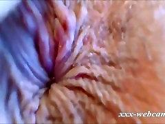 Stunning MILF insane closeup squirting show on webcam