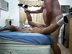 Dagmar from 1fuckdate.com - Amateur samantha putz handjob femdom feet bangs fat hubby