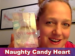 Anal Butt Plug Review Video - How to Use The Naughty Candy Heart Butt Plugs