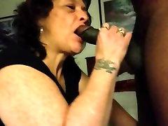Granny sucking hevi wait xxx cock
