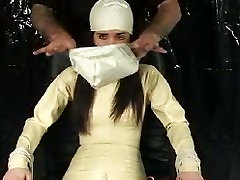 Tape Gagged & Breathplay Bondage