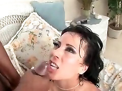 Horny MILF Honey racy 007 fucks a big black cock