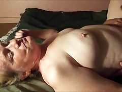 Mature lady being licked to orgasm
