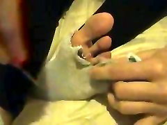 Cutting Toes Off Socks