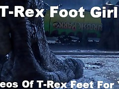 T-Rex Kāju Squish Pirkstiem