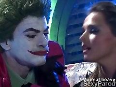 Joker fucks 2 crazy hotties, XXX desi momms Betmenas