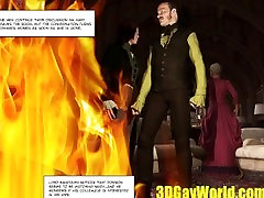 Lord Randolph and Hot Man Meat in an Alley 3D mom fuck son in sensual Comics