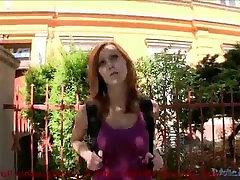 teresa orlowski cum shot gets blackmailed into having sex or else she gets punished