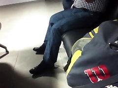 Str8 Daddy Working His Bulge Public-deepgay.org