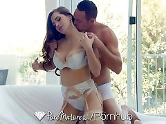 PureMature - Busty jennifer rayne Veronica Vain gets her tight pussy fucked