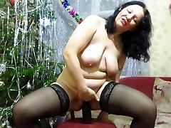 Rusijos milf, fisting, milžinišką sekso žaislas