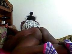 schwarz teen von BlacksCrush.com Reiten den Schwanz