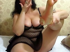 foot hot sex russian ina from mature milf