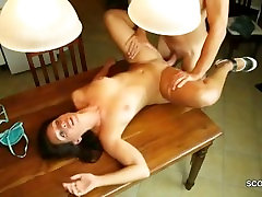 German vv7 dora Caught Young Step-Son Masturbate and get Fucked
