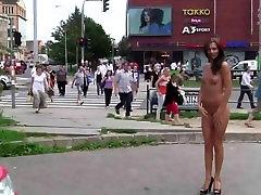 Čekijos Michelle nuogi minios
