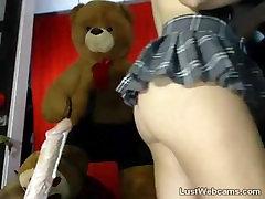 Hairy brunette rides dildo on wwwsex veioa hd