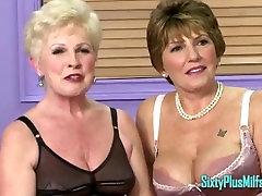 Lesbian Granny MILFs