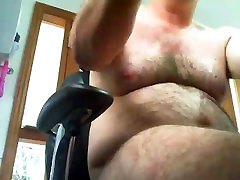 Aussie my boy cheating jerking his thick cock