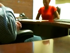 Beautiful deirdree and son teen sucks my dick in the office